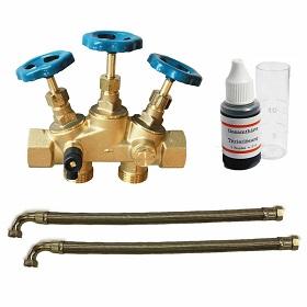 Wasserentkalkungsanlage Fitrasoft Rohre